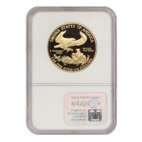 1987-W $50 Eagle NGC PF70UCAM Obverse